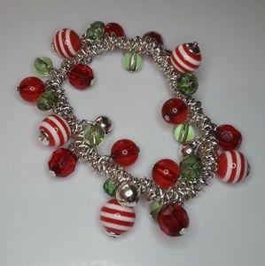 Christmas Jingle Charm Bracelet